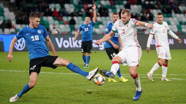 Сборная Беларуси сыграла вничью с командой Эстонии в матче отбора к ЧЕ-2020