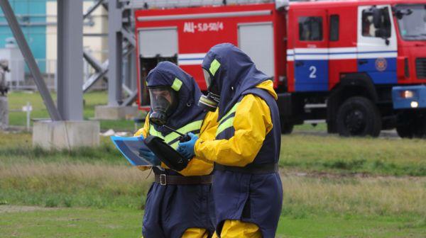 Учение по реагированию на радиационные аварии прошло в Островецком районе