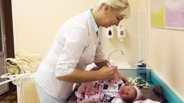 В Брестском роддоме с начала года родились более 4 тыс. малышей