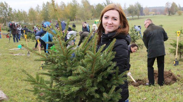 """Более 30 тыс. деревьев и кустарников высадят работники Минприроды в дни акции """"Обустроим малую родину"""""""