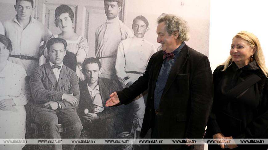 Семья одного из основателей УНОВИСа Лазаря Хидекеля посетила Витебск