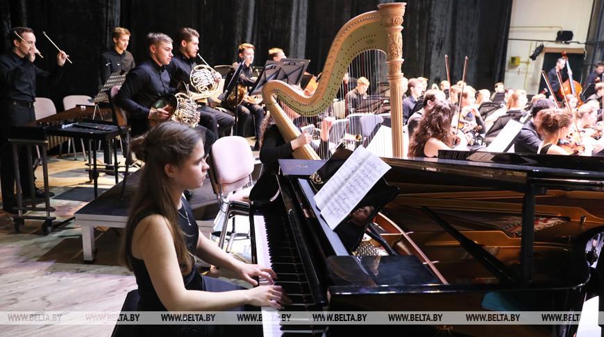 Российский молодежный оркестр выступил в Витебске