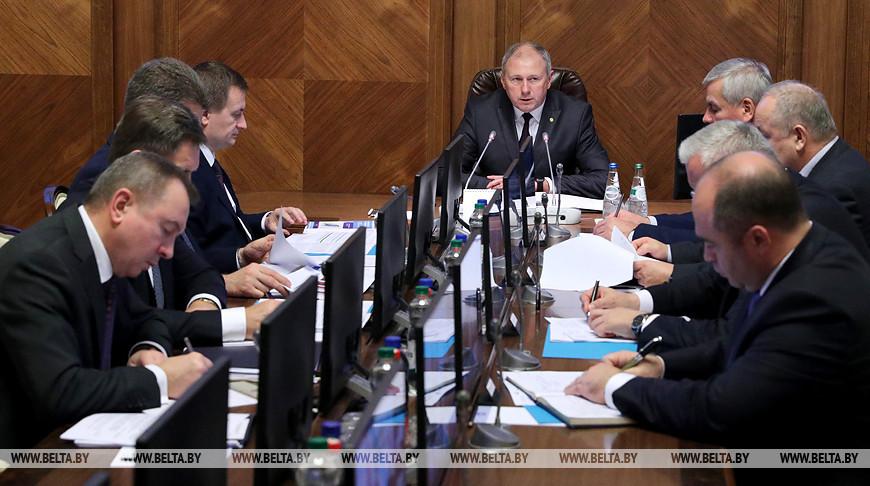 Румас провел заседание Президиума Совета Министров, где рассматривались вопросы наращивания и диверсификации экспорта