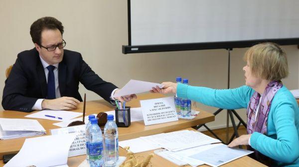 Прима провел прием граждан в администрации Первомайского района Минска