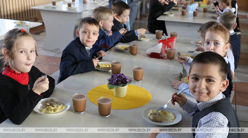 Столовая средней школы №11 Витебска