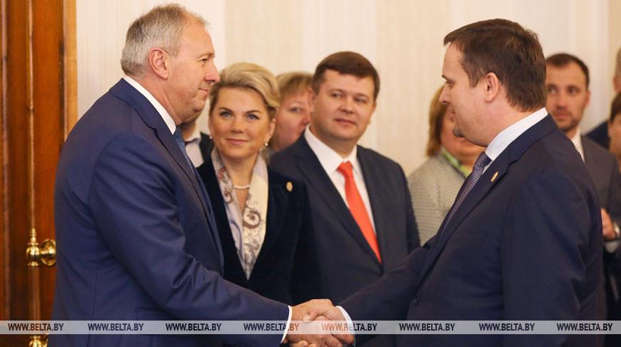 Румас встретился с губернатором Новгородской области