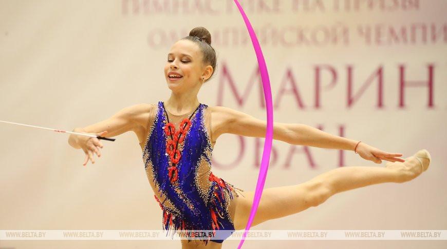 Международный турнир по художественной гимнастике на призы Марины Лобач проходит в Минске