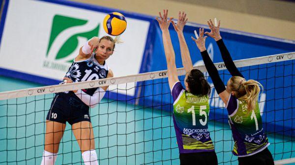 """Волейболистки """"Минчанки"""" одержали победу в первом домашнем матче российской суперлиги"""