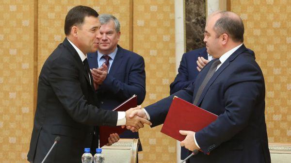 Заседание Совета делового сотрудничества Беларуси и Свердловской области в Минске