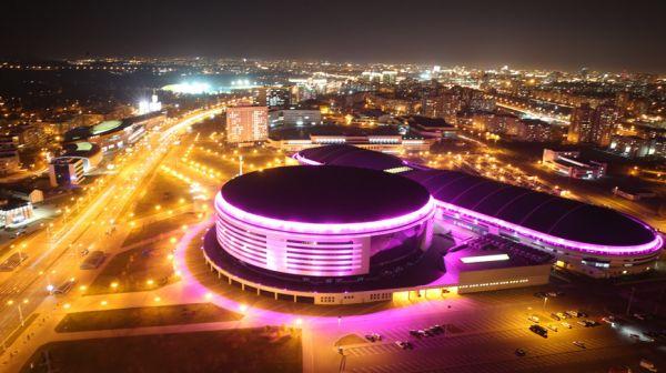 Огни ночного Минска