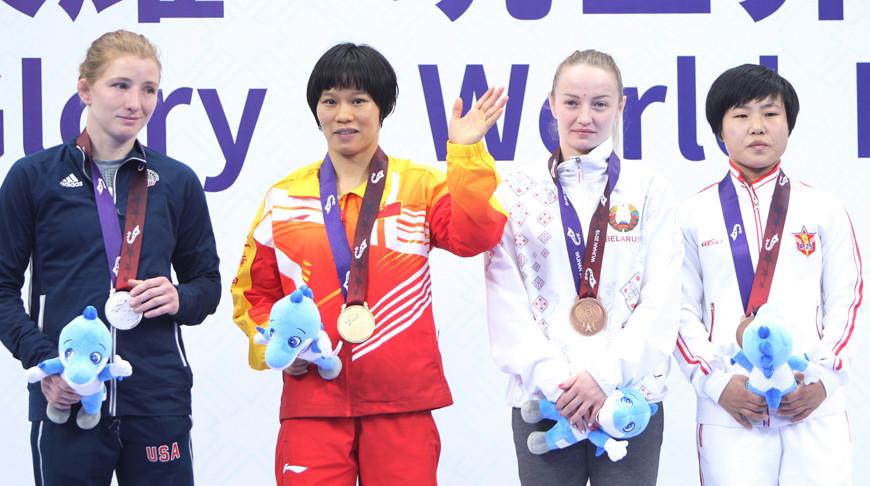 Александр Гуштын и Ксения Станкевич завоевали серебро и бронзу Всемирных военных игр в Китае