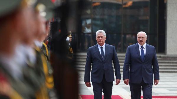Официальные переговоры Лукашенко с Президентом Кубы состоялись в Минске