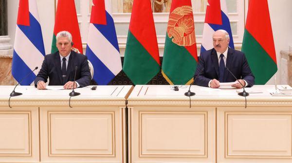 Лукашенко: Беларусь и Куба выработали совместные решения для развития торговых отношений