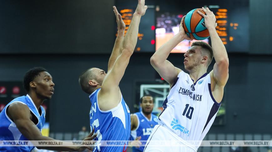 """Баскетболисты """"Цмокi-Мiнск"""" победили на старте Кубка ФИБА-Европа"""