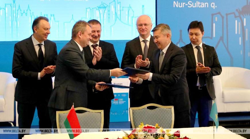Контракты на $75 млн заключены на белорусско-казахстанском бизнес-форуме
