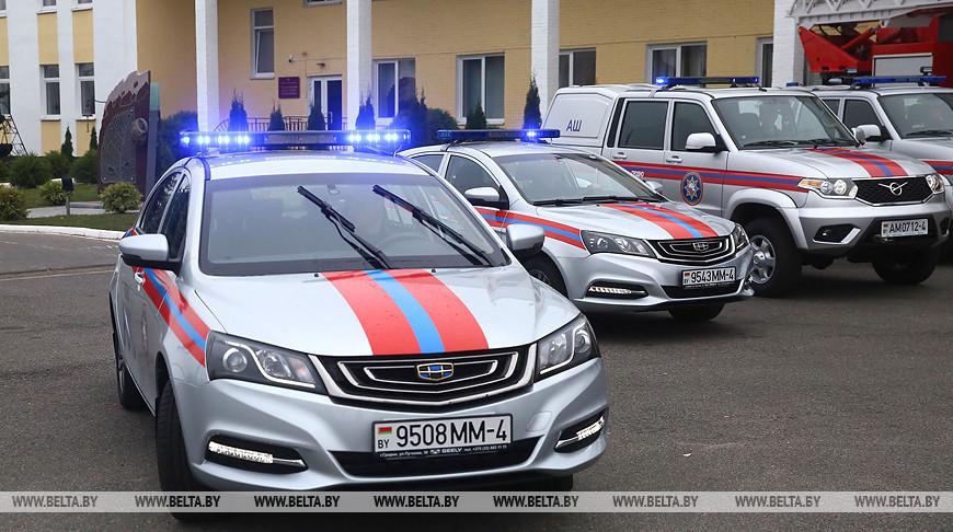 Гродненские спасатели получили новые служебные автомобили