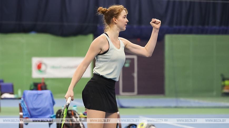 Международный юниорский турнир по теннису BelGlobal Cup проходит в Минске