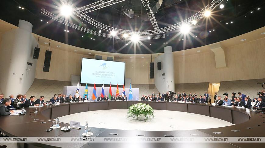 Заседание Евразийского межправсовета в расширенном составе прошло в Москве