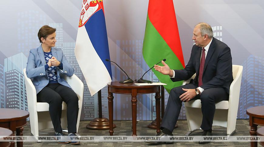 Румас встретился с премьер-министром Сербии
