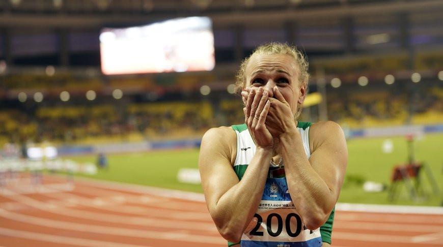 Екатерина Поплавская выиграла для Беларуси третье золото Всемирных военных игр