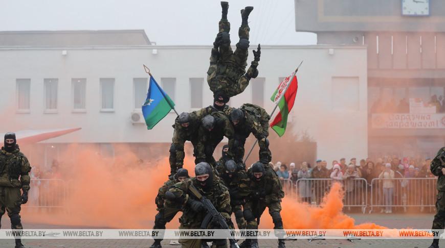 День спецразведки отпраздновали в Марьиной Горке