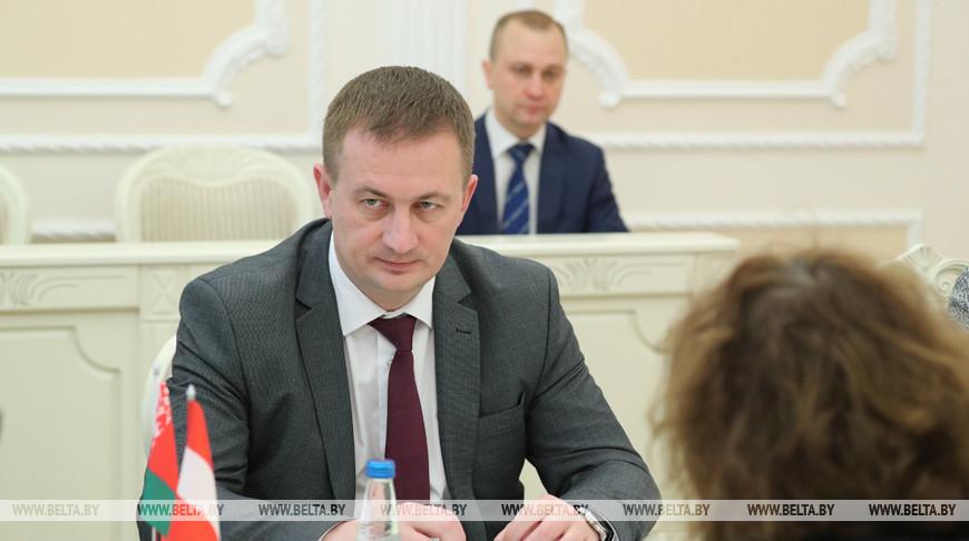 Турчин провел встречу с послом Австрии в Беларуси