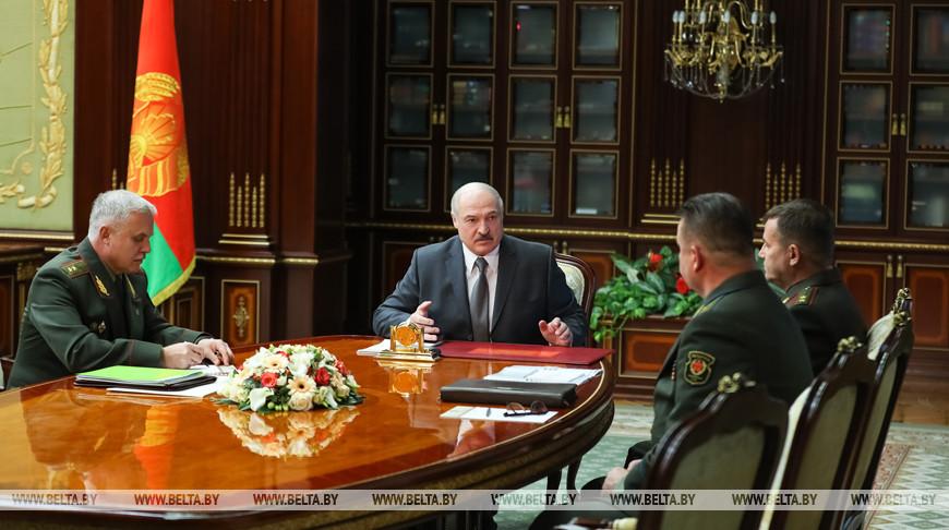 Лукашенко рассказал о белорусской реакции на американские танки в Литве