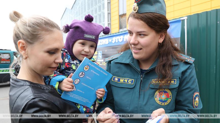Молодежный пикет для повышения электоральной активности населения провел БРСМ в Витебске