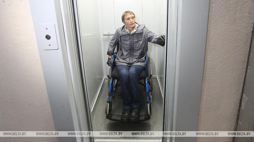 КГК помог решить вопрос с лифтом для удобства инвалида-колясочника