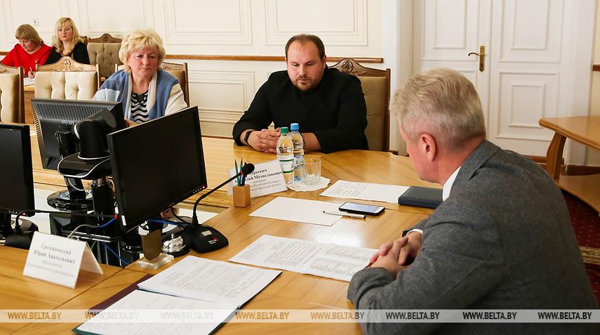 Маркевич провел личный прием граждан в Барановичском райисполкоме