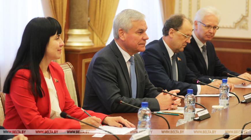 Андрейченко встретился с послом Австрии в Беларуси
