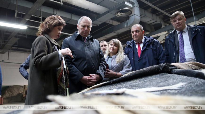 Румас посетил Минское производственное кожевенное объединение