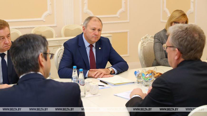 Румас встретился с председателем Счетной палаты РФ