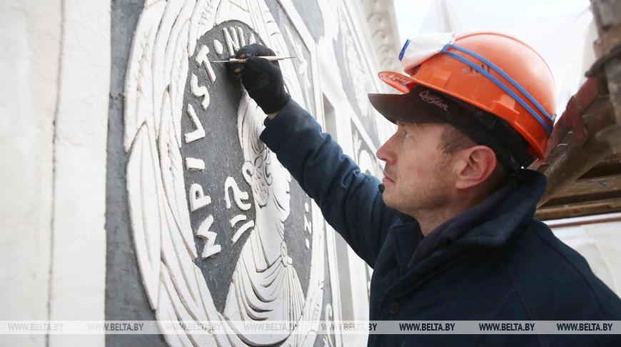 В Гродно продолжается масштабная реконструкция Старого замка