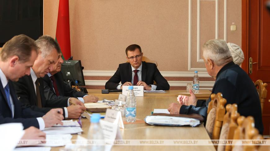 Кунцевич провел выездной прием граждан в Пружанах
