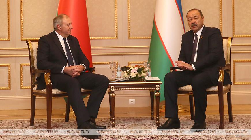 Румас встретился с премьер-министром Узбекистана