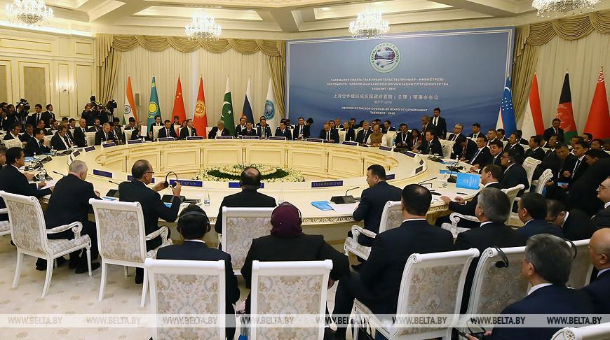Заседание Совета глав правительств ШОС прошло в Ташкенте