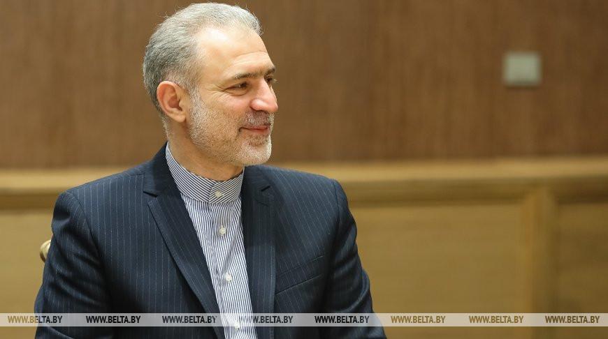 Мясникович встретился с послом Ирана Мостафой Овейси