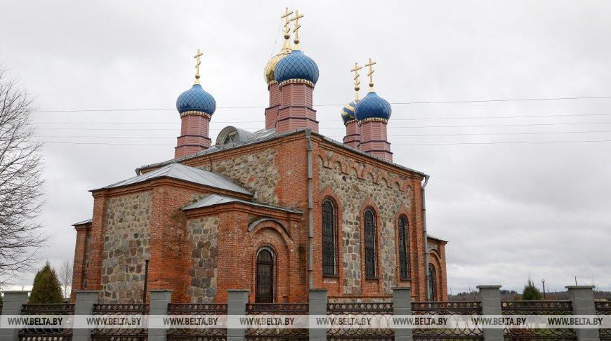 Храм Вознесения Господня в Россонах