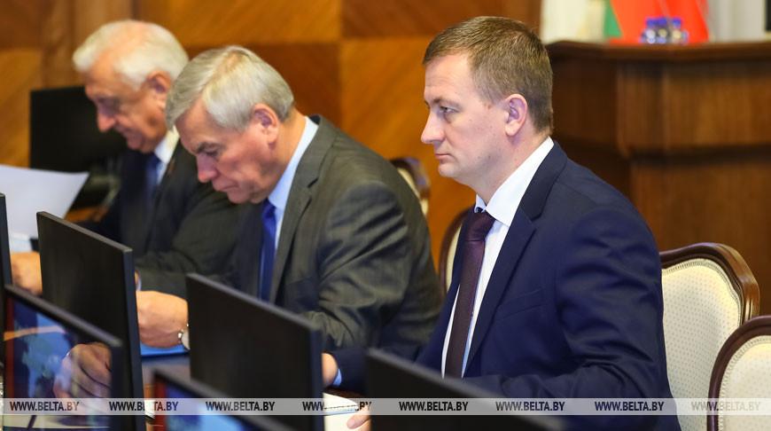 Заседание Совета Министров по итогам работы экономики в январе-сентябре 2019 года прошло в Минске