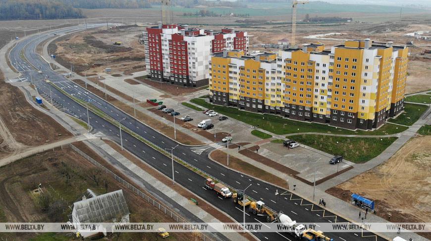 Новую городскую магистраль открыли в Гродно