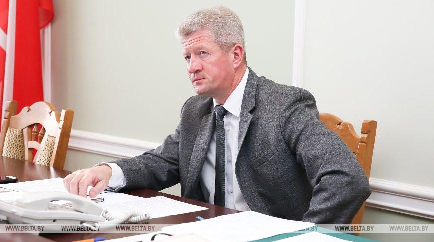 Маркевич провел прием граждан в Ляховичах