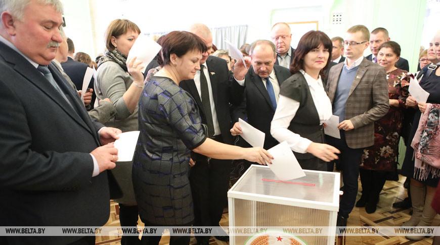 Гомельская область избрала своих представителей в Совет Республики