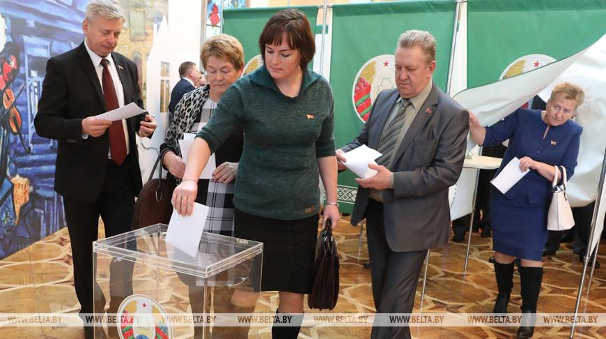 В Витебской области избраны члены Совета Республики