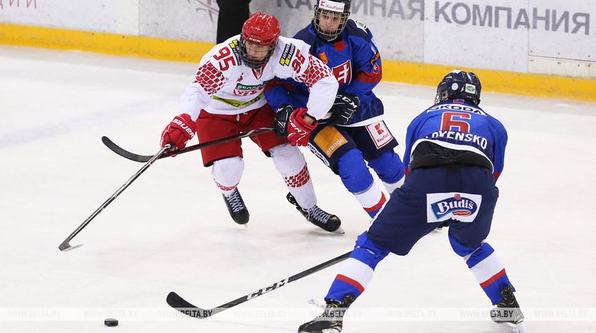 Белорусские хоккеисты проиграли на старте Кубка Президентского спортивного клуба среди юношеских команд