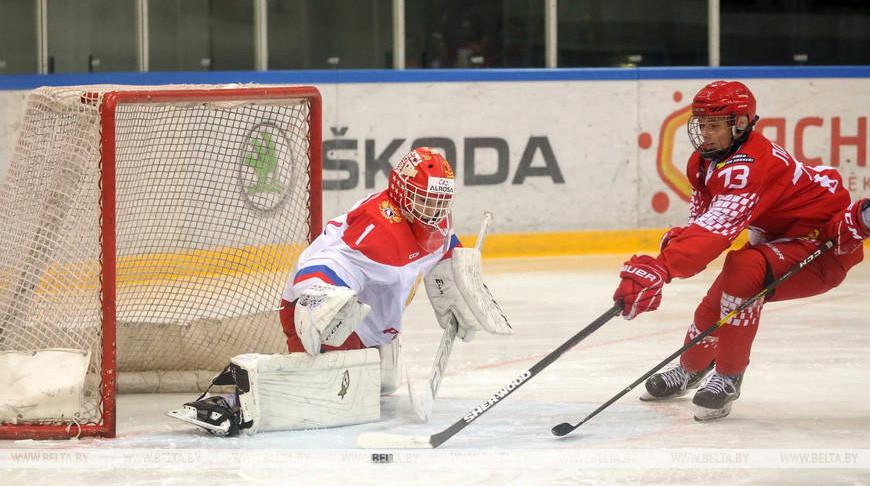 Белорусские хоккеисты заняли третье место на юниорском турнире в Минске
