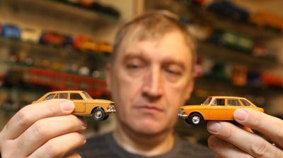 Около 900 моделей миниатюрных машин собрал витебчанин Борис Геворков