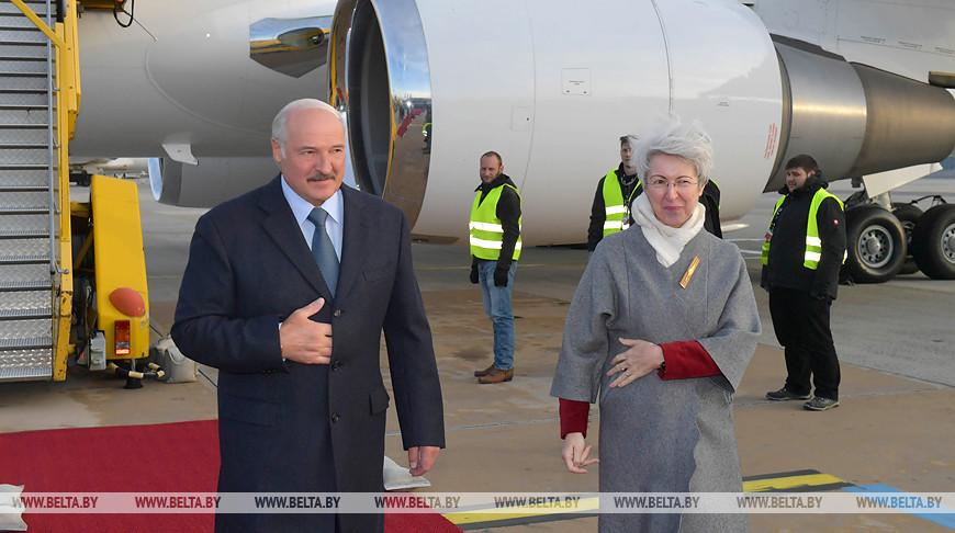 Начался официальный визит Лукашенко в Австрию