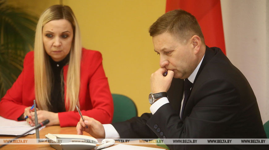 Лавринович провел в Новогрудке прием граждан