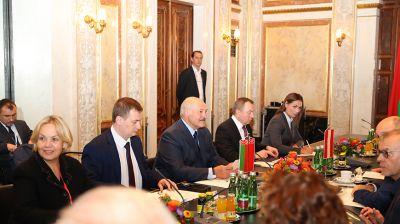 Лукашенко встретился с председателем Национального совета Австрии